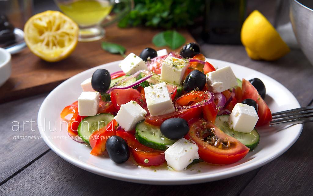 Рецепты салатов из разных стран мира