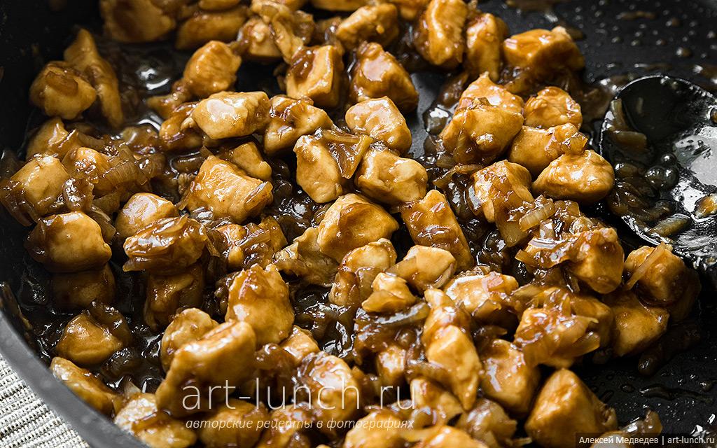 бархатная курица по-китайски