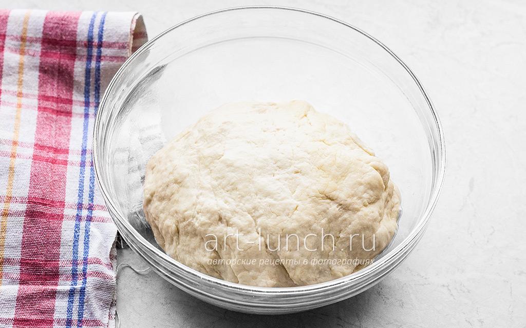 Лепёшки с луком-пореем и сыром