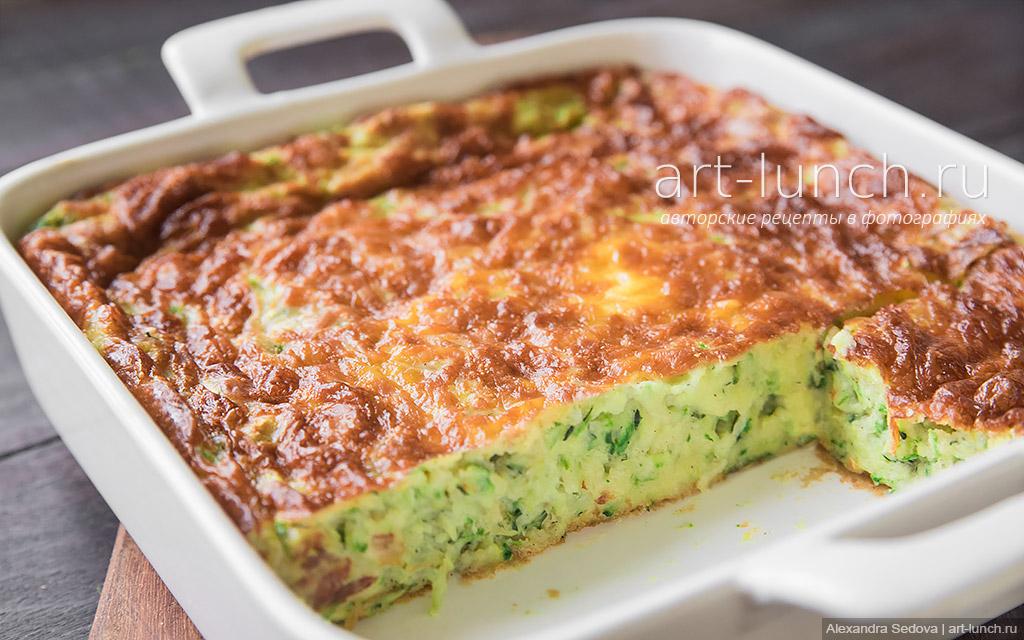 Запеканка из кабачков в духовке - пошаговый рецепт с фото