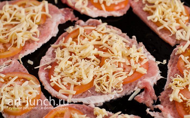 Мясо по-купечески с грибами - пошаговый рецепт с фото