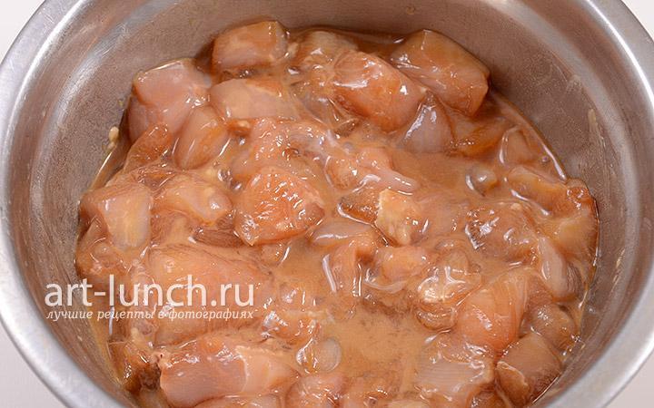 филе куриное в кисло сладком соусе рецепт с фото