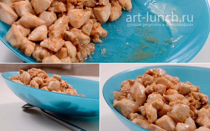 салат простой и вкусный рецепт с креветками