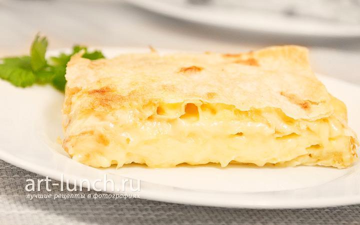 Сырный пирог - пошаговый рецепт с фото