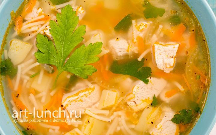 Как правильно варить суп с макаронами 3
