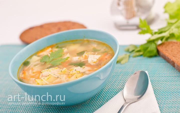 Рецепты супов вкусных из курицы