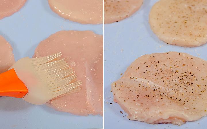 Куриные медальоны - пошаговый рецепт с фото