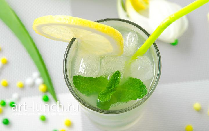Мятный лимонад - пошаговый рецепт с фото