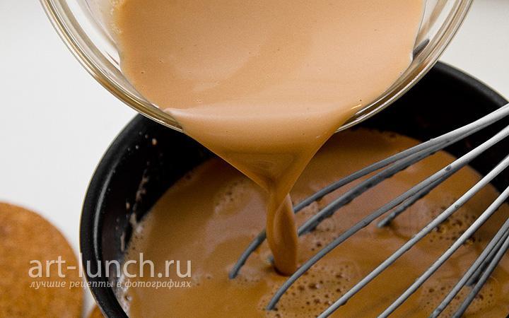 Рецепт панакоты на молоке с фото