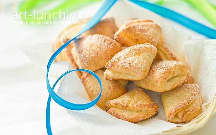 Творожное печенье Конвертик - рецепт с фото