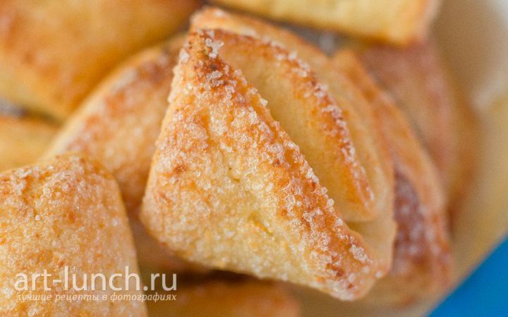 творожное печенье конвертики рецепт с фото