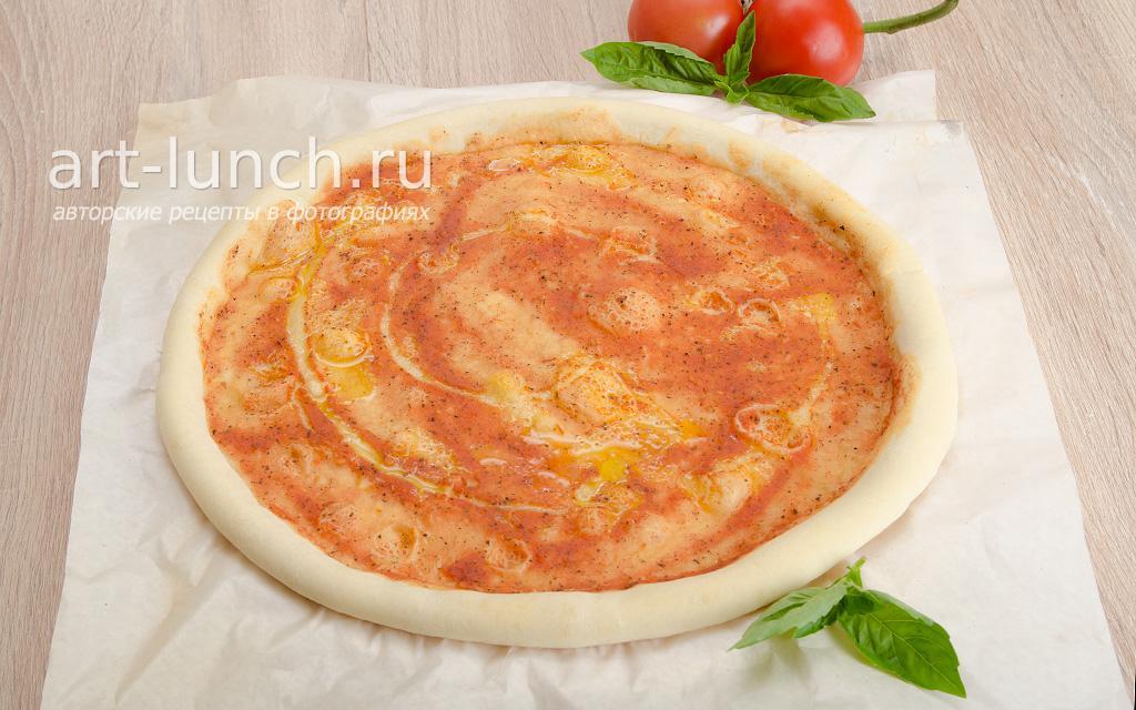 настоящий рецепт теста для пиццы