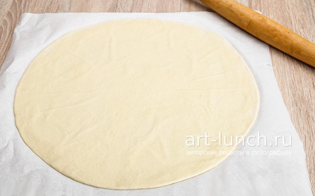 Супертонкое тесто для пиццы рецепт