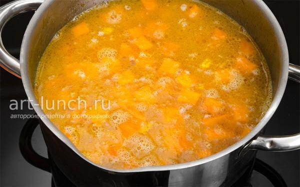 Суп тыквенный пошаговый рецепт