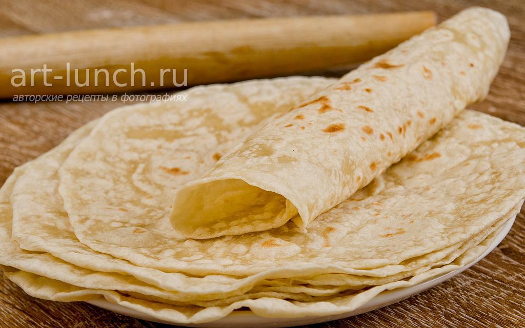 Пшеничные тортильи для буррито