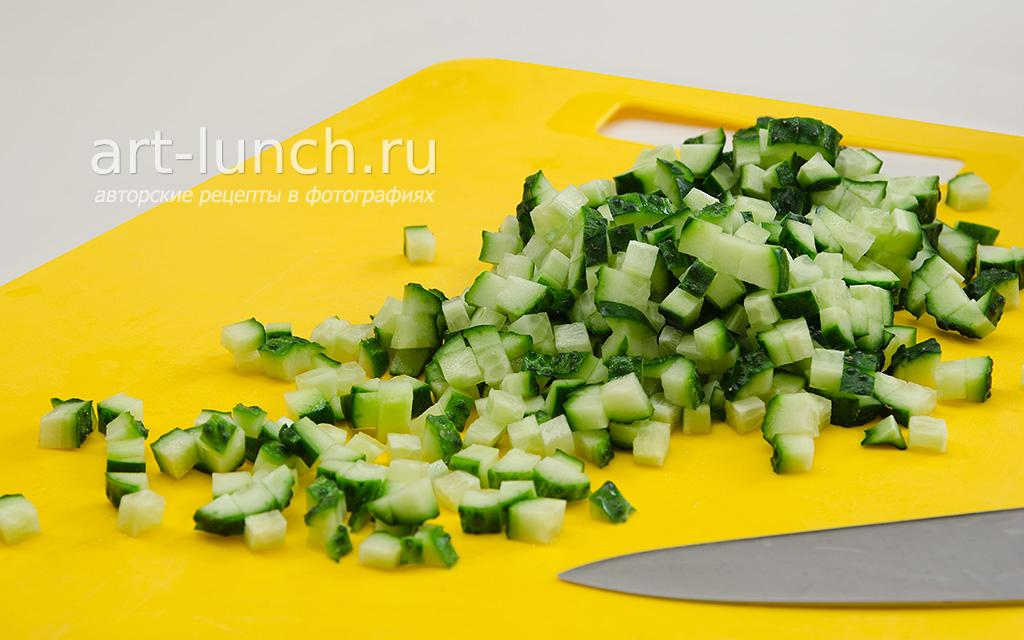 Салат с курицей и апельсином - пошаговый рецепт с фото
