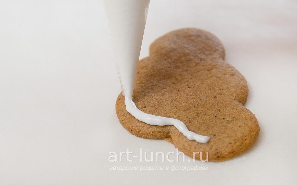Айсинг (глазурь для печенья) - пошаговый рецепт с фото