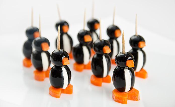 Закуска «Пингвины»