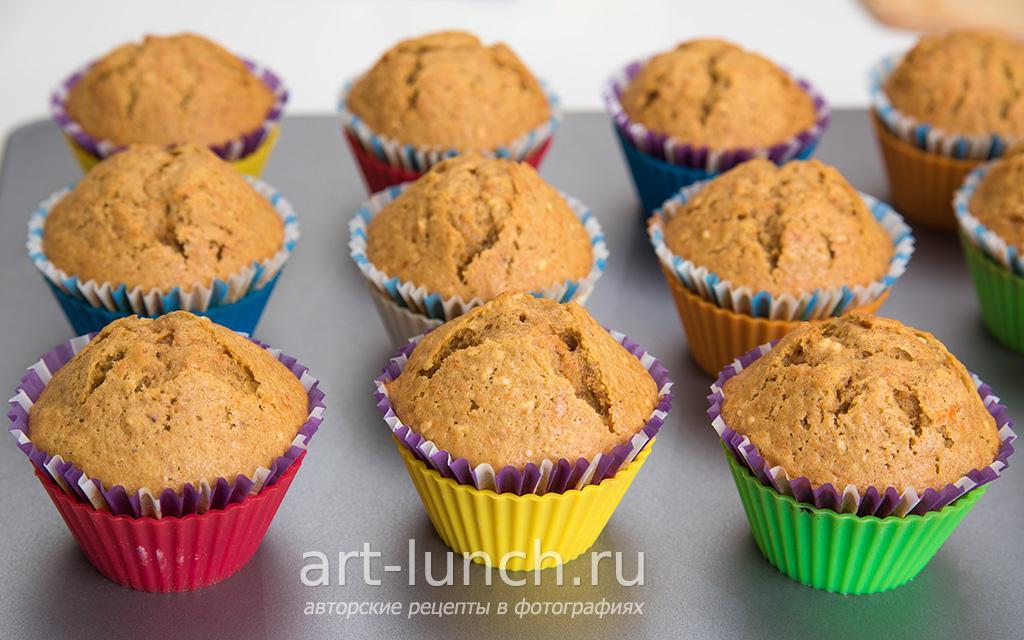 Тыквенные кексы - пошаговый рецепт с фото
