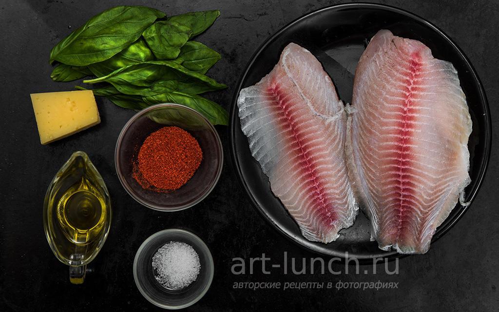 Тилапия в панировке с пармезаном - пошаговый рецепт с фото