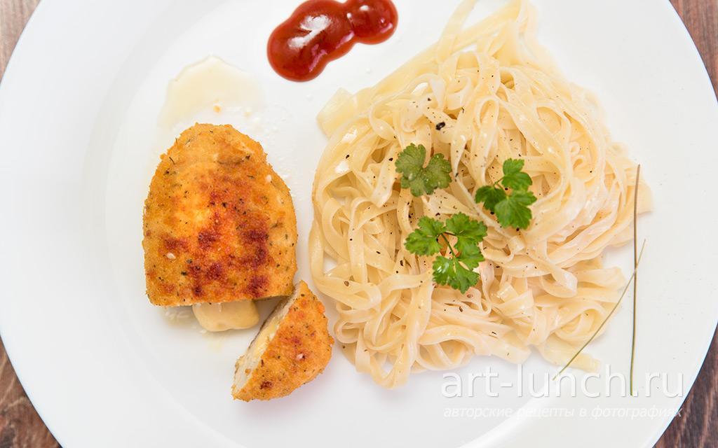 Куриные котлеты с сыром - пошаговый рецепт с фото