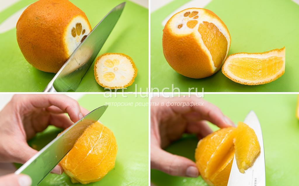 Творожный пирог с апельсинами