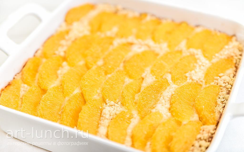 рецепты творожных тортов с апельсинами с фото