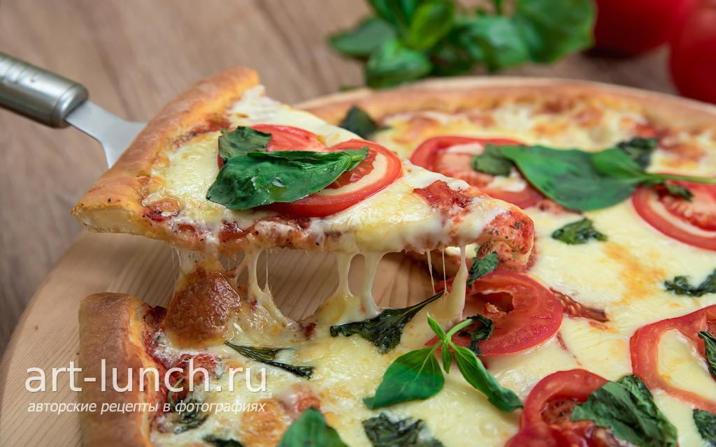 Пицца Маргарита - пошаговый рецепт с фото