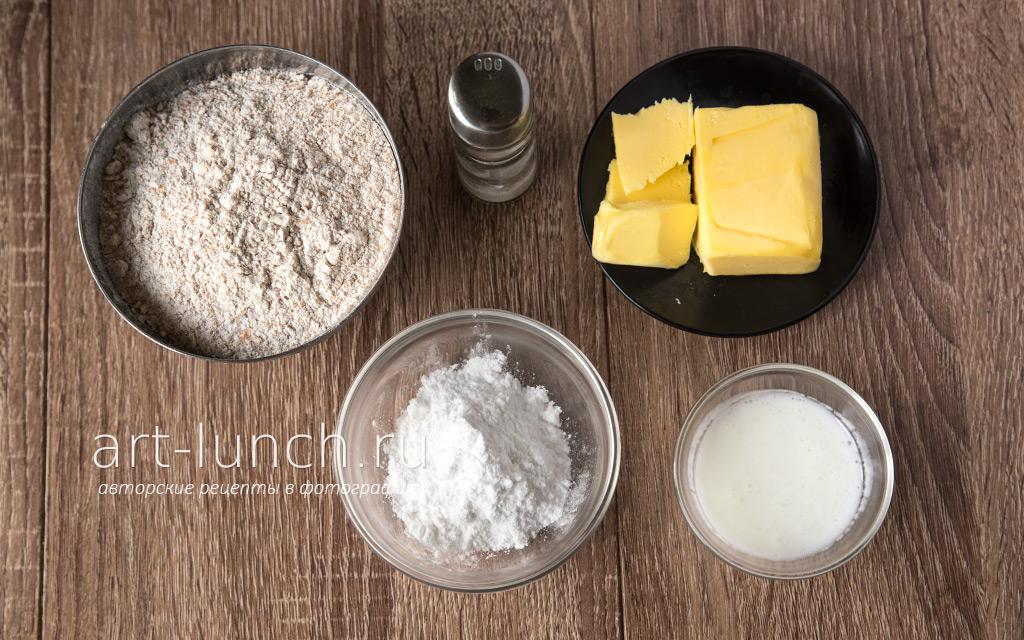 Галета со сливами - пошаговый рецепт с фото