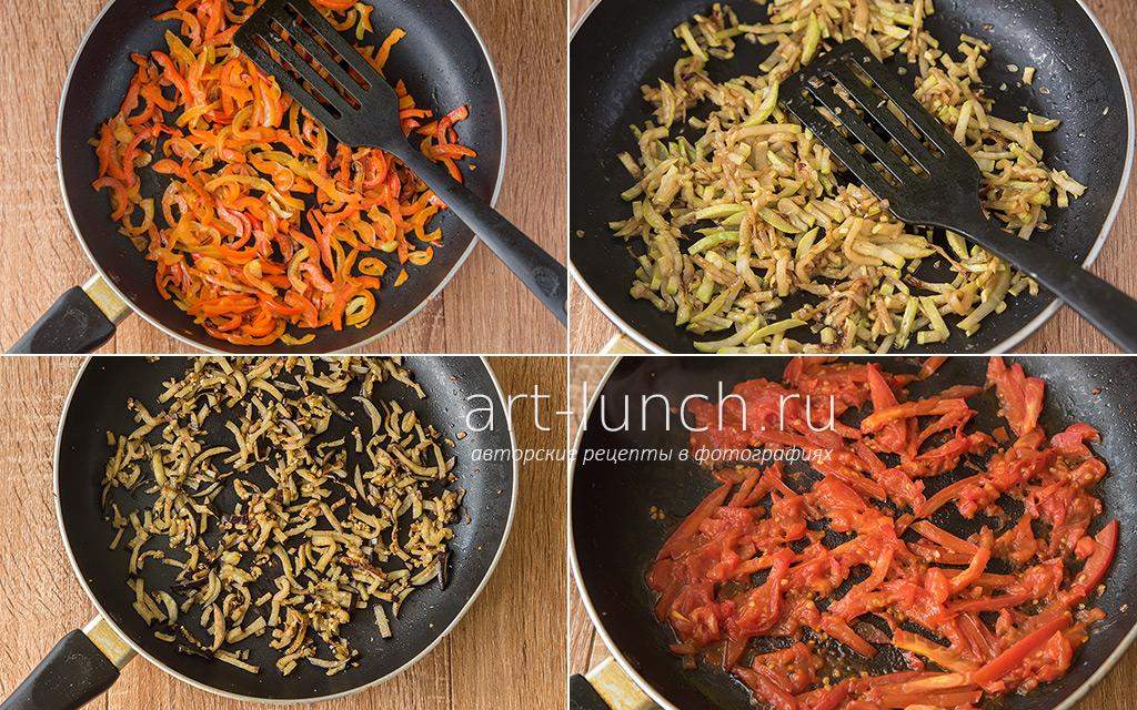 Лапша удон с овощами и свининой - пошаговый рецепт с фото