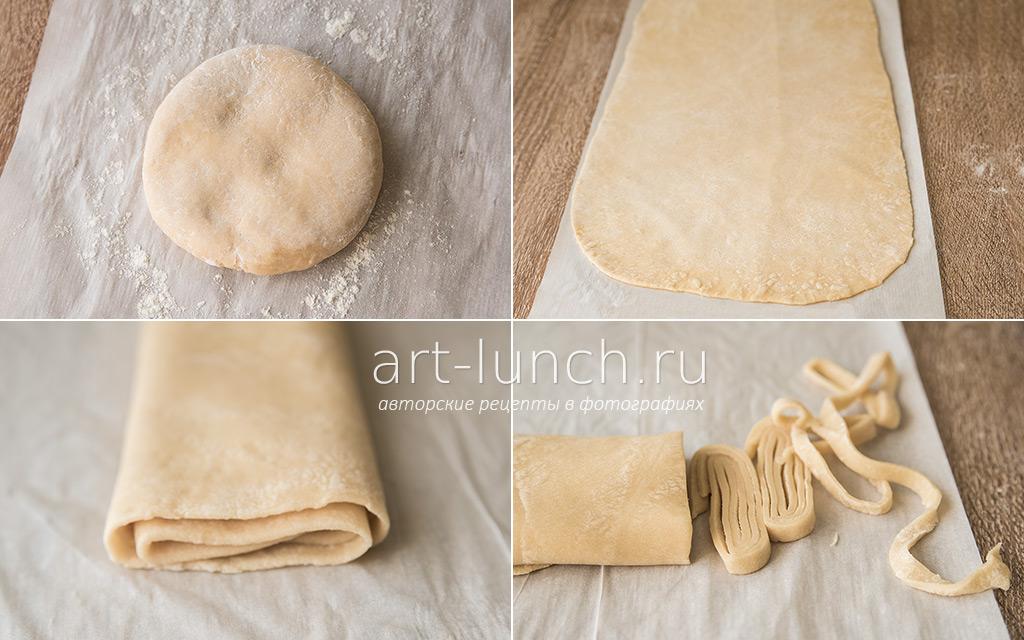 Тесто для лапши домашней рецепт пошагово