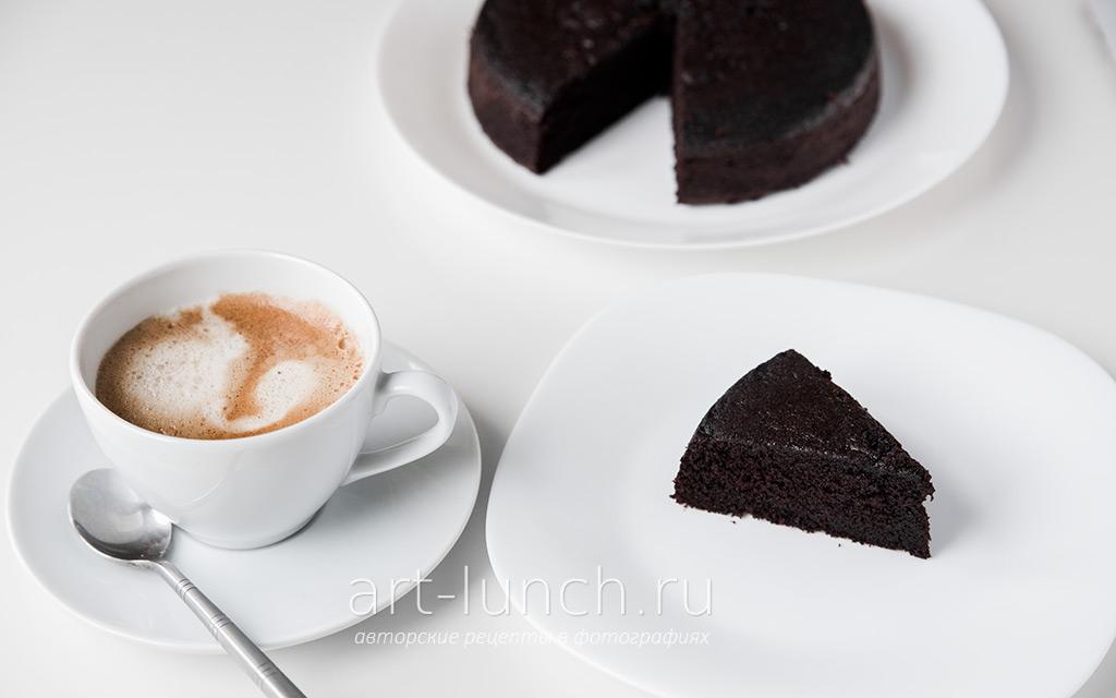 Черный бисквит рецепт