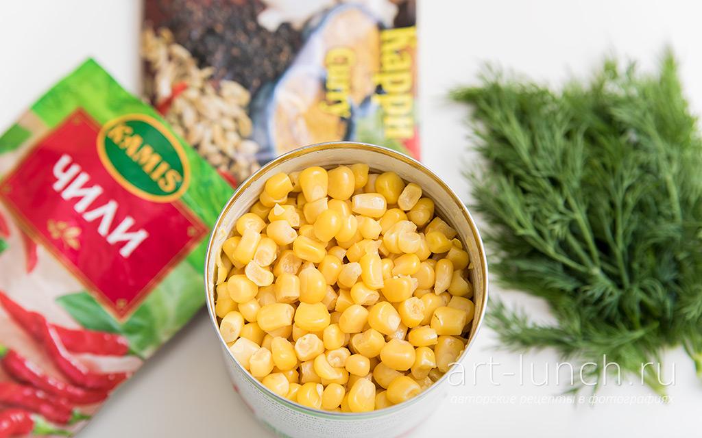 Гуляш из индейки в кукурузном соусе