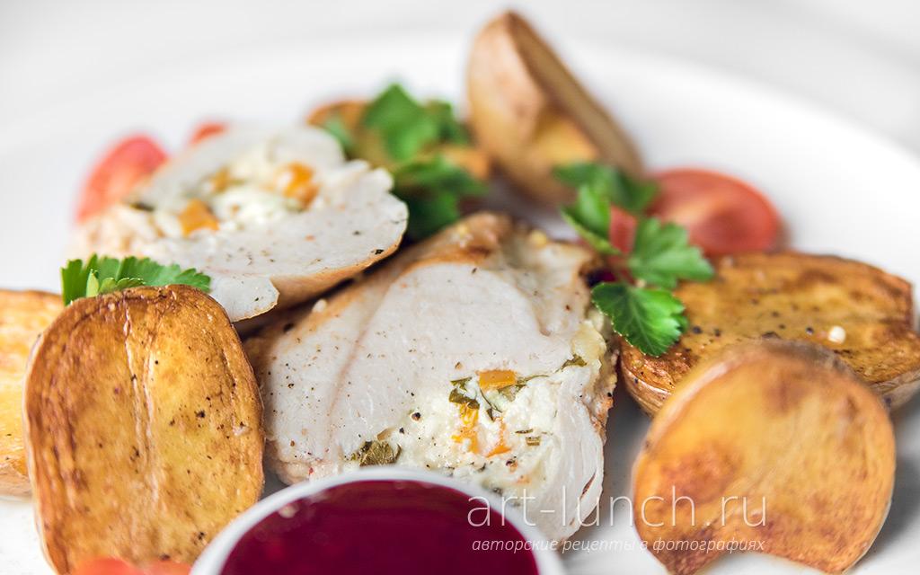 Пикантная курица в горчичном соусе