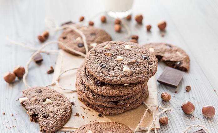 Печенье «Три шоколада»
