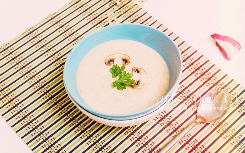 Грибной крем суп