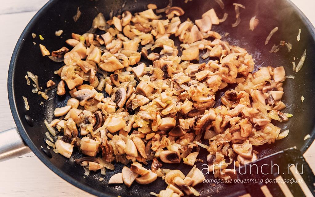 Картофельный суп-пюре с грибами и сливками