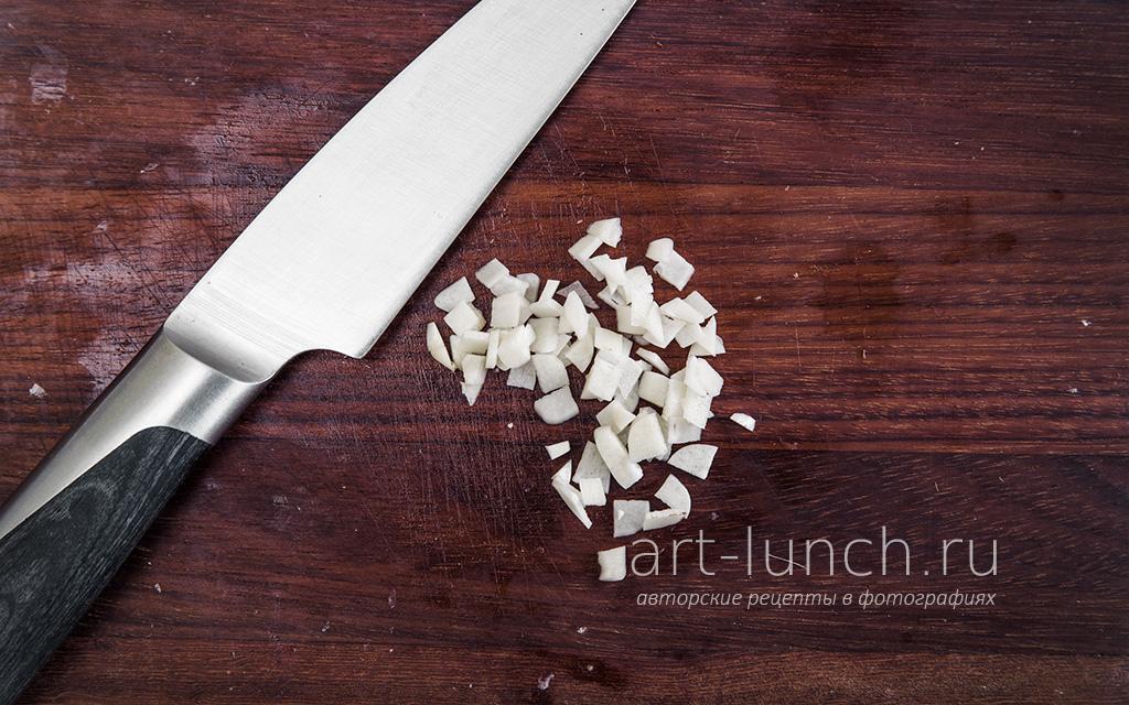 Кукурузное рагу с перцем и кабачками