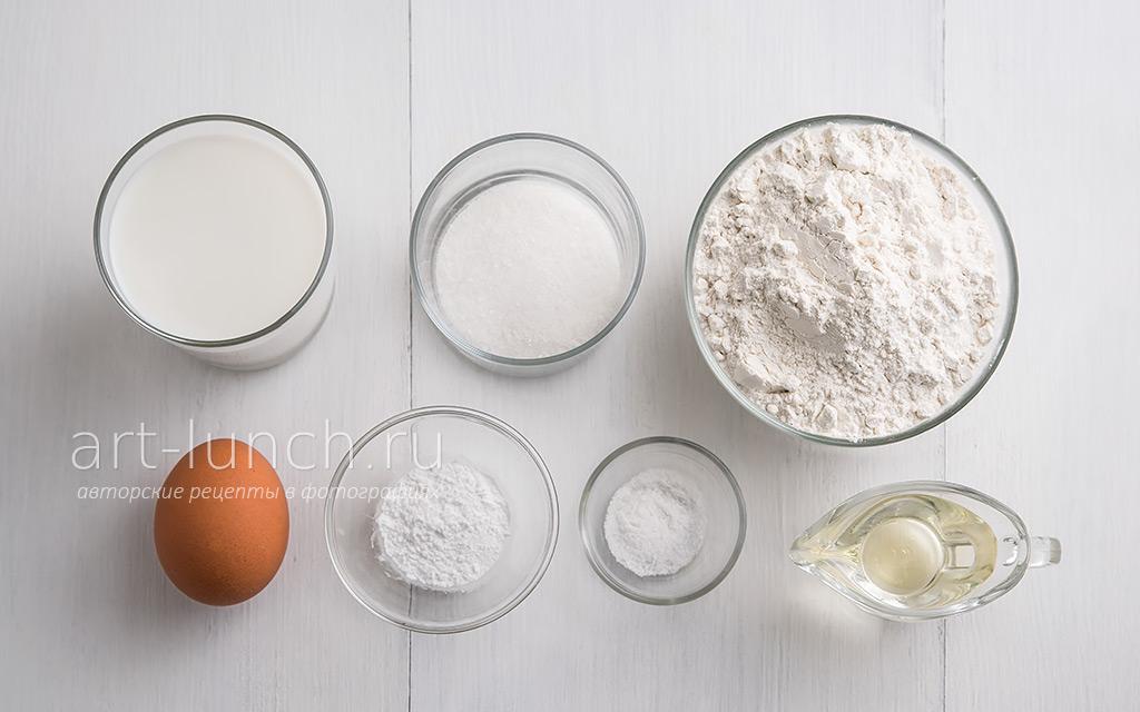 Панкейки - пошаговый рецепт с фото